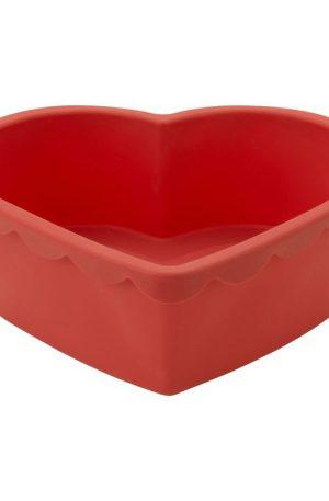 Bakvorm siliconen hart - 21x24 cm