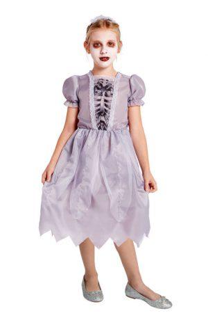 Halloween bruid kinderkostuum - maat 110