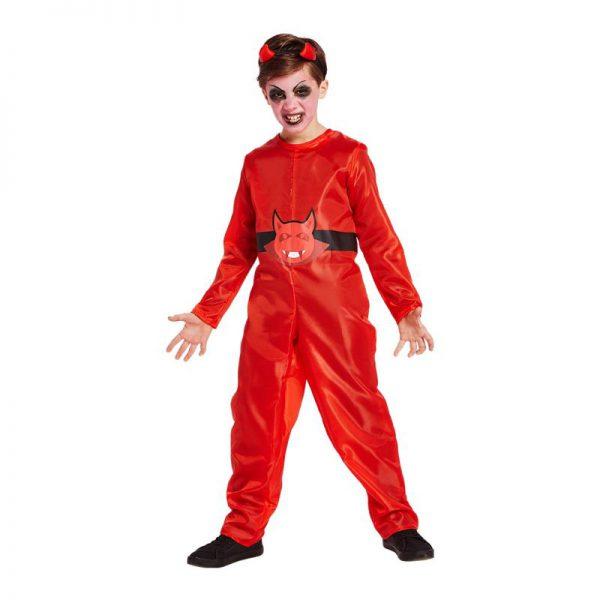Halloween duivel kinderkostuum - maat 128