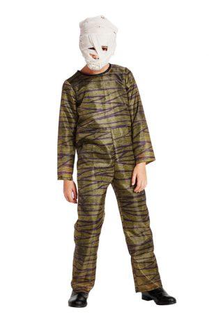 Halloween mummy kinderkostuum - maat 146