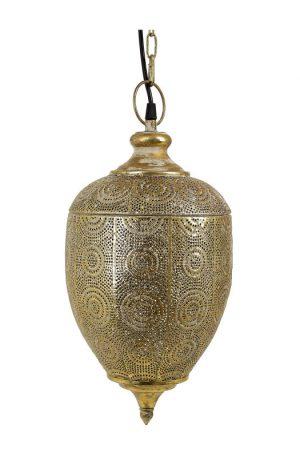 Hanglamp Maysa - goud - Ø22x29.5 cm