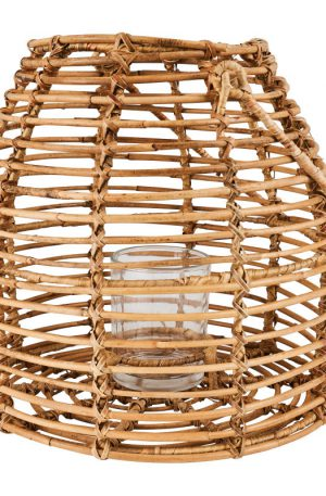 Lantaarn rotan - Ø29x27 cm