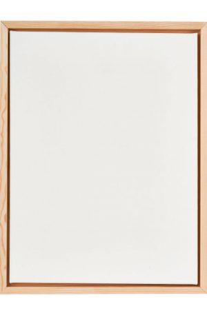 Schildersdoek in houten lijst - 30x40 cm