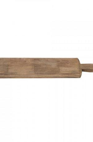 Snijplank mangohout - langwerpig - 14x62 cm