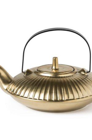 Theepot mat goud - 700 ml